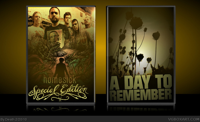 A Day To Remember: Homesick Special Edition box art cover