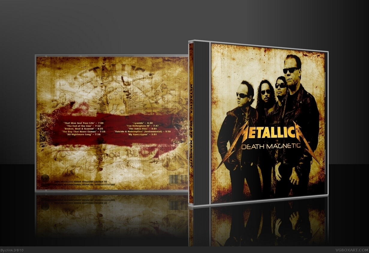 Metallica - Death Magnetic box cover