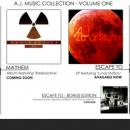 A.J. Music Collection - Volume 1 Box Art Cover