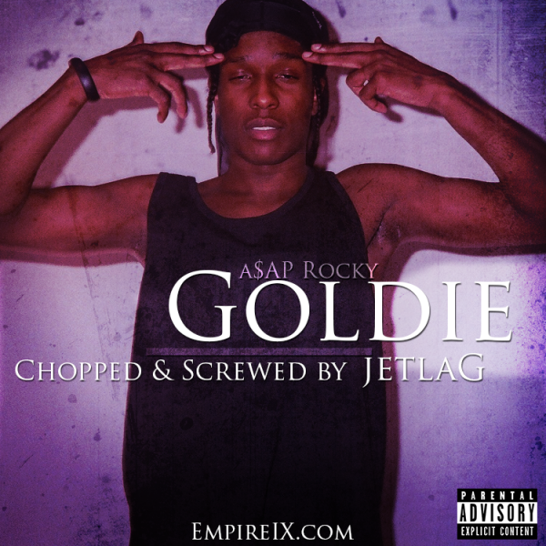 A$AP Rocky: Goldie (C&S by Jetlag) box art cover