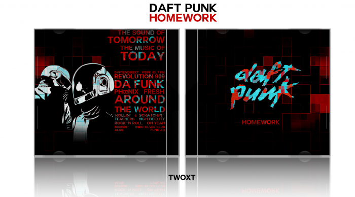 Daft Punk: Homework box art cover
