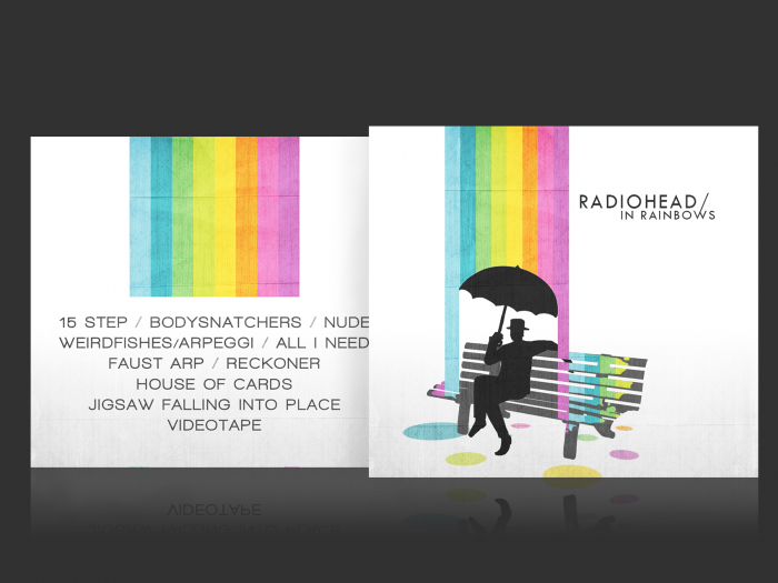 Radiohead: In Rainbows box art cover