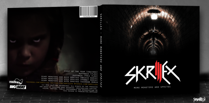 Skrillex: More Monsters And Sprites box art cover