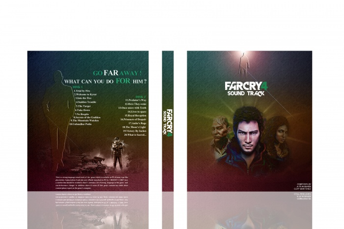 Far Cry 4 Soundtrack box art cover
