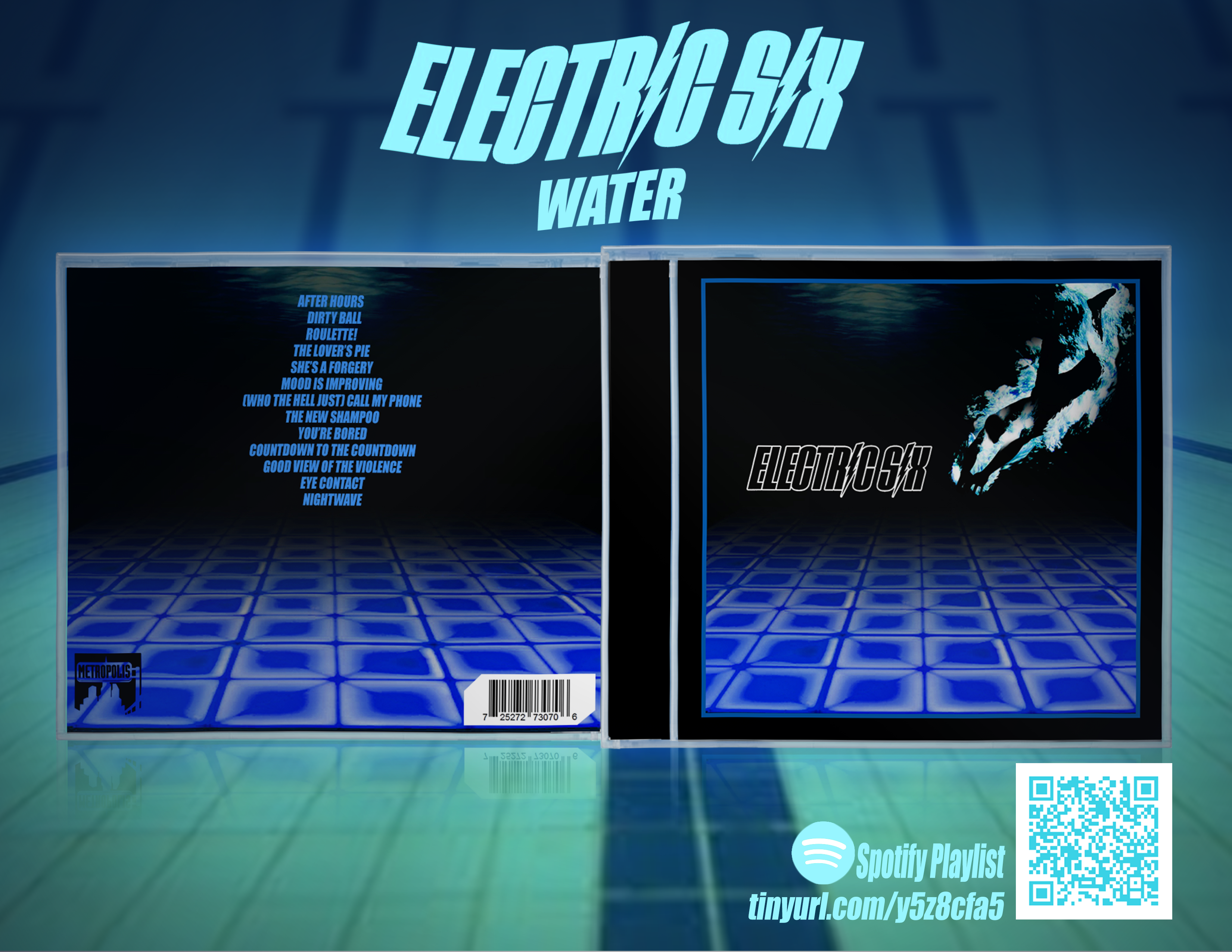 ElectricSix - Water box cover