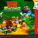 Donkey Kong Racing Box Art Cover