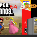 New Super Mario Bros 64 Box Art Cover