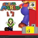 Super Mario 17 Box Art Cover