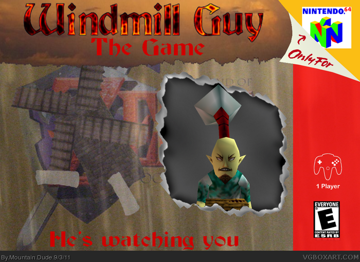 Windmill Guy: The Game box art cover