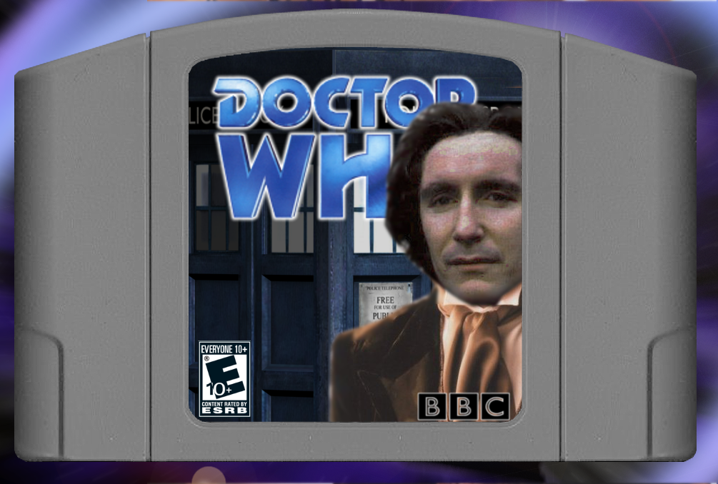Doctor Who: The Game box cover