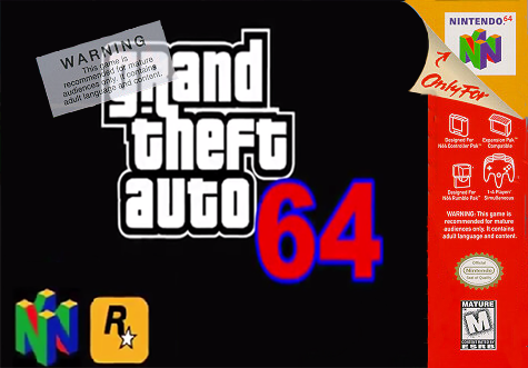 Grand Theft Auto 64 box cover