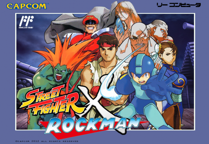 street fighter video game cover