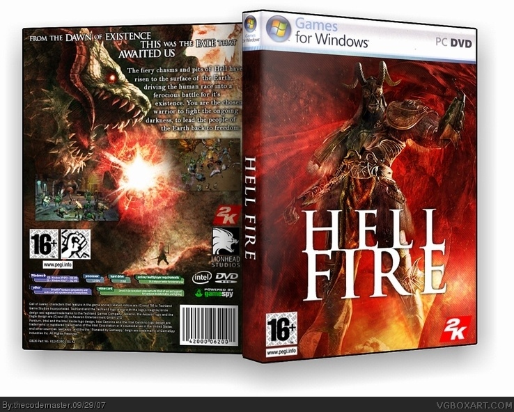 Hell Fire box cover