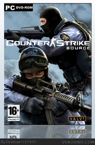Counter Strike : Source box cover