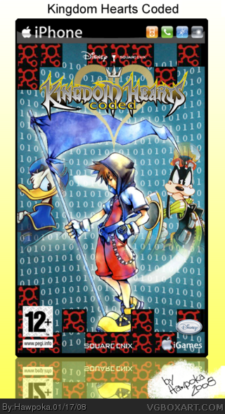 Kingdom Hearts Coded (iPhone) box cover