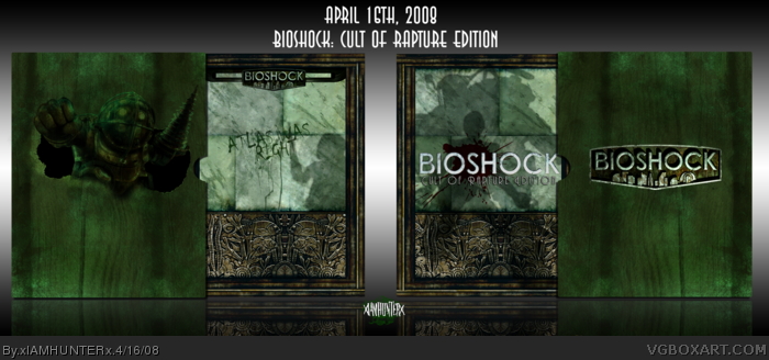 BioShock: Cult of Rapture Edition box art cover