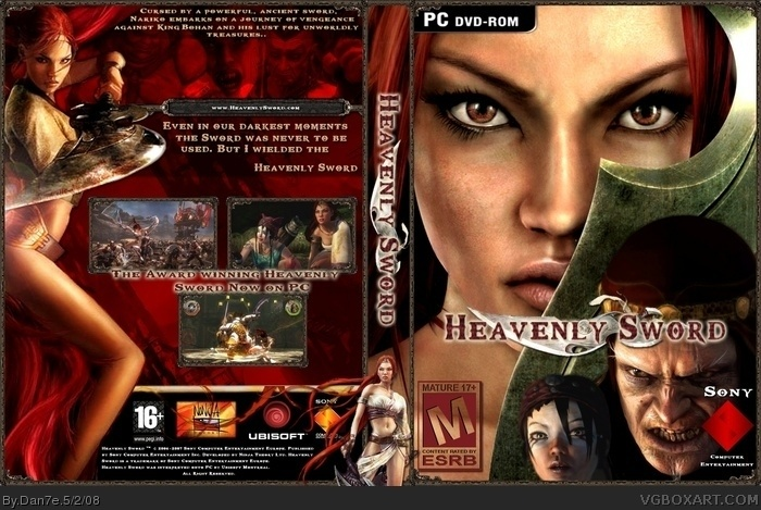 Heavenly Sword Pc Pc Box Art Cover By Dan7e