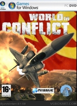World in Conflict box cover