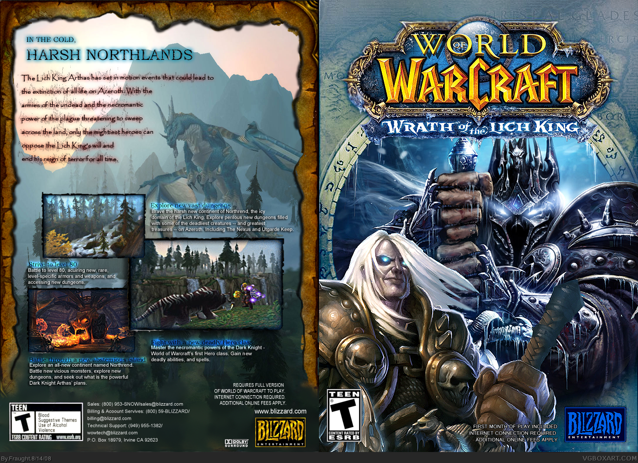 world of warcraft wrath of the lich king movie download