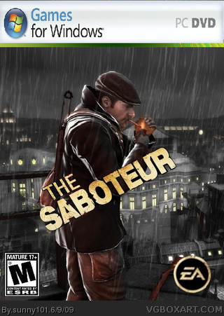 The Saboteur box cover