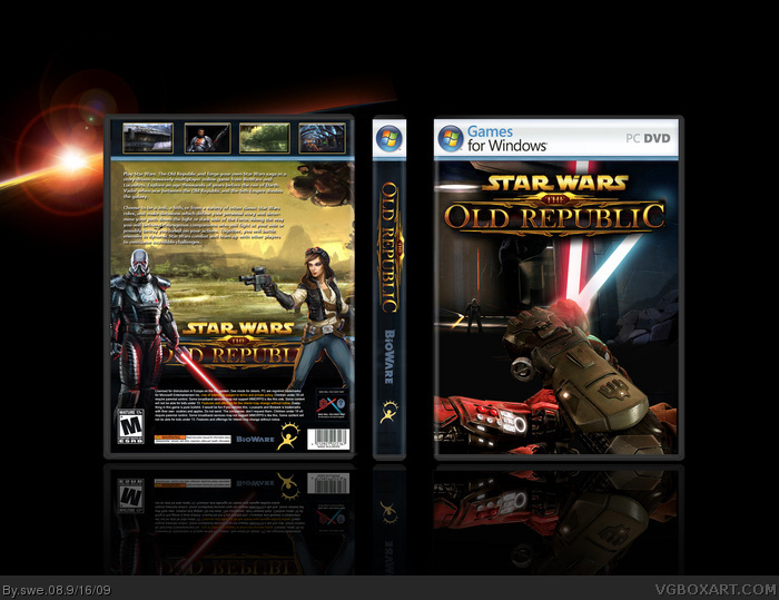 Star Wars: The Old Republic box art cover