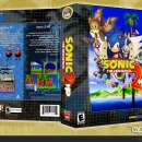 Sonic the Hedgehog 2: HD Box Art Cover