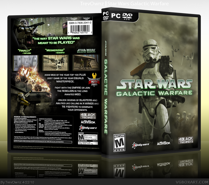 Star Wars: Galactic Warfare box art cover