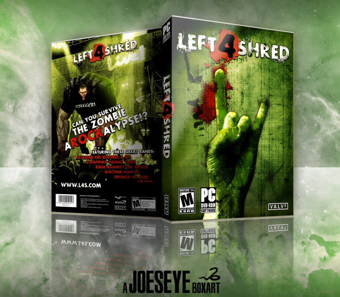 Left 4 Shred box art cover
