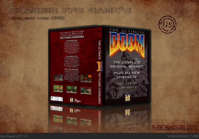 Ultimate Doom box art cover