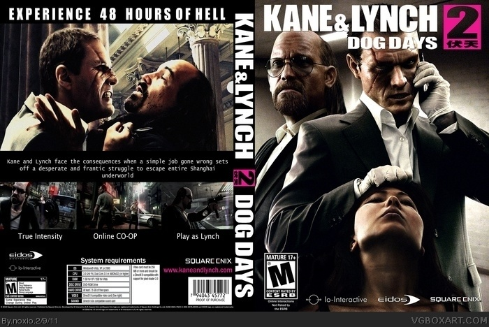 Kane & Lynch 2: Dog Days box art cover