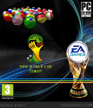2014 FIFA World Cup box cover