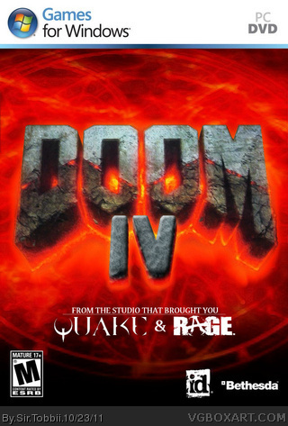 Doom IV box cover