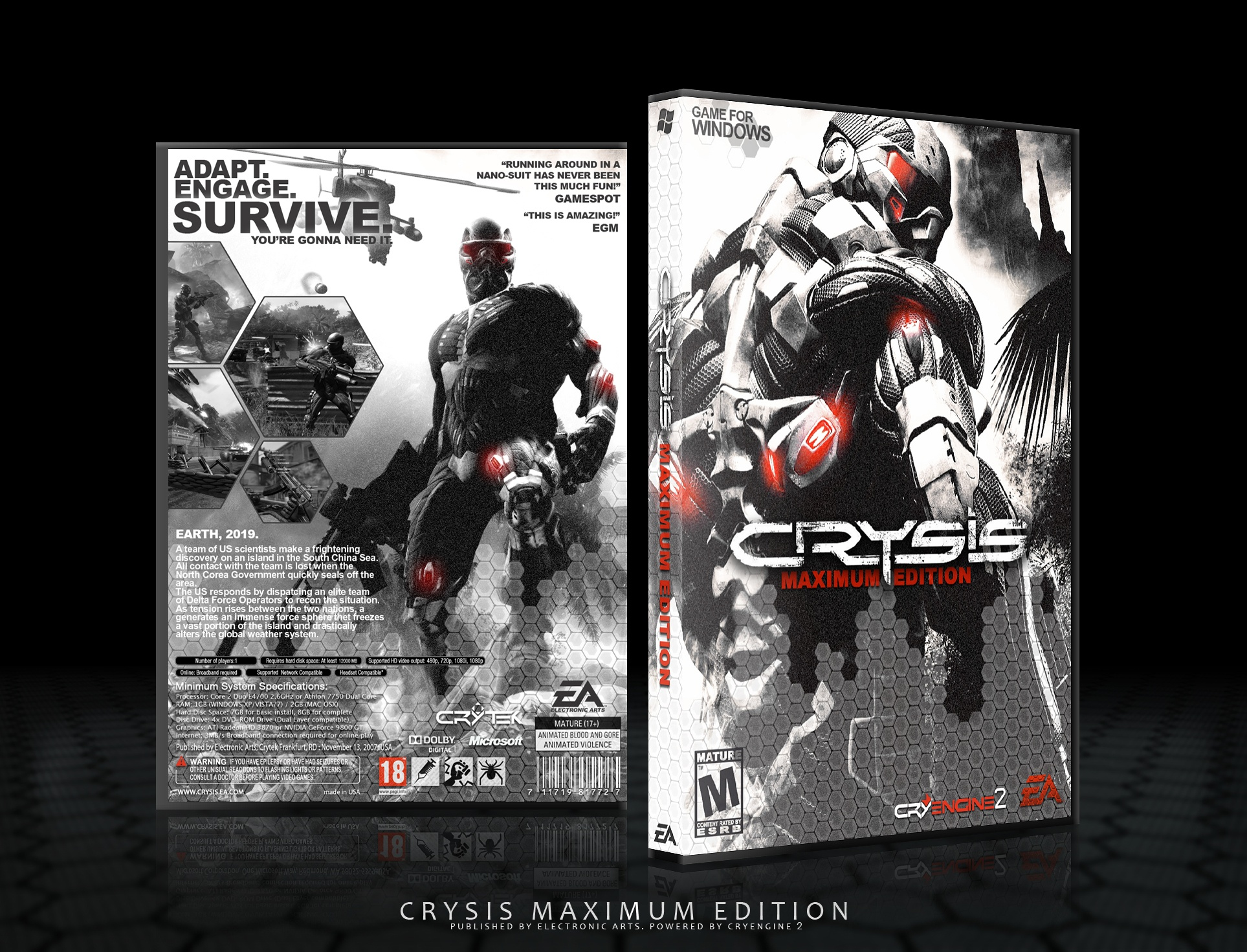 Crysis box cover