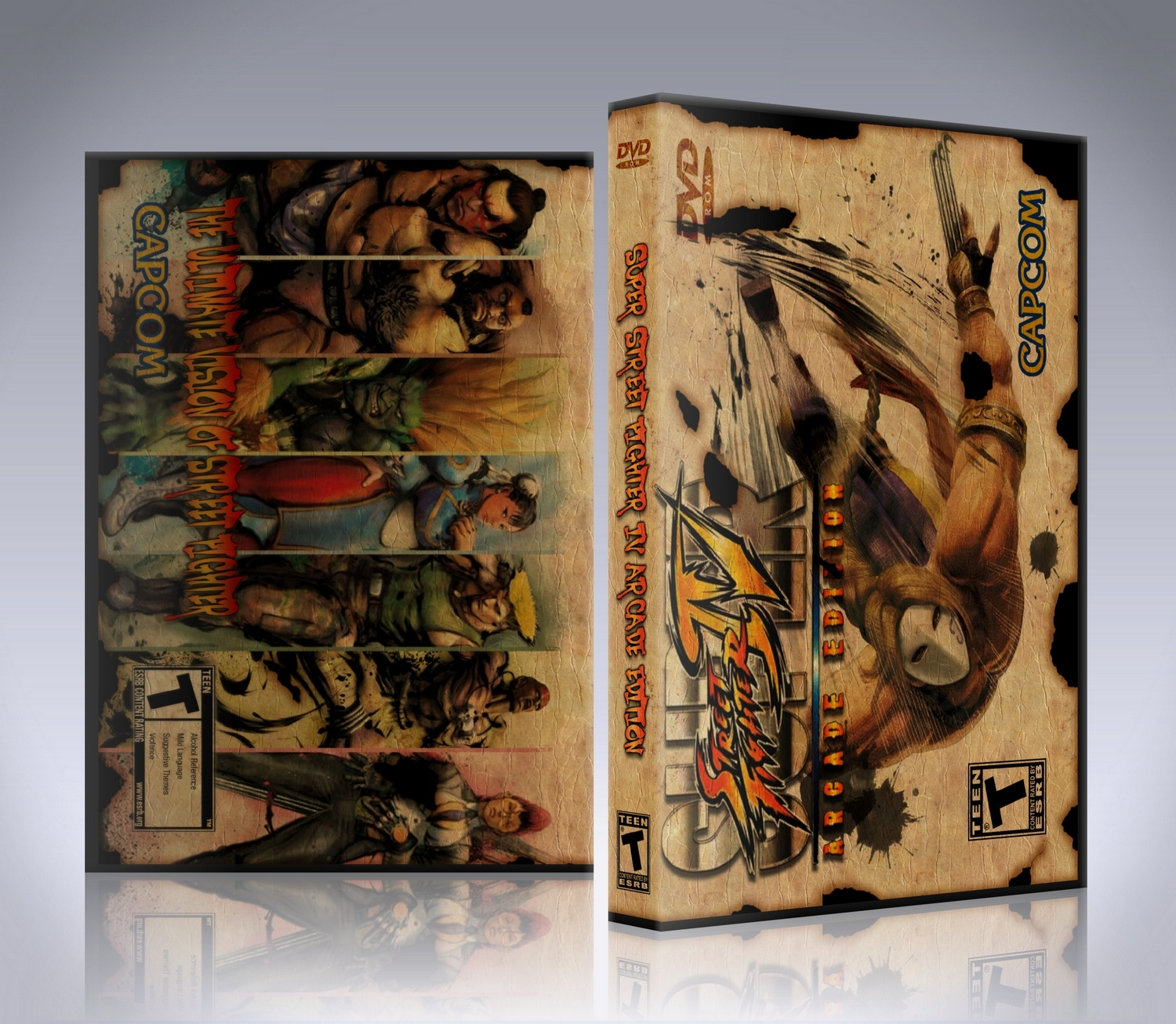 Super Street Fighter IV Arcade Edition box cover