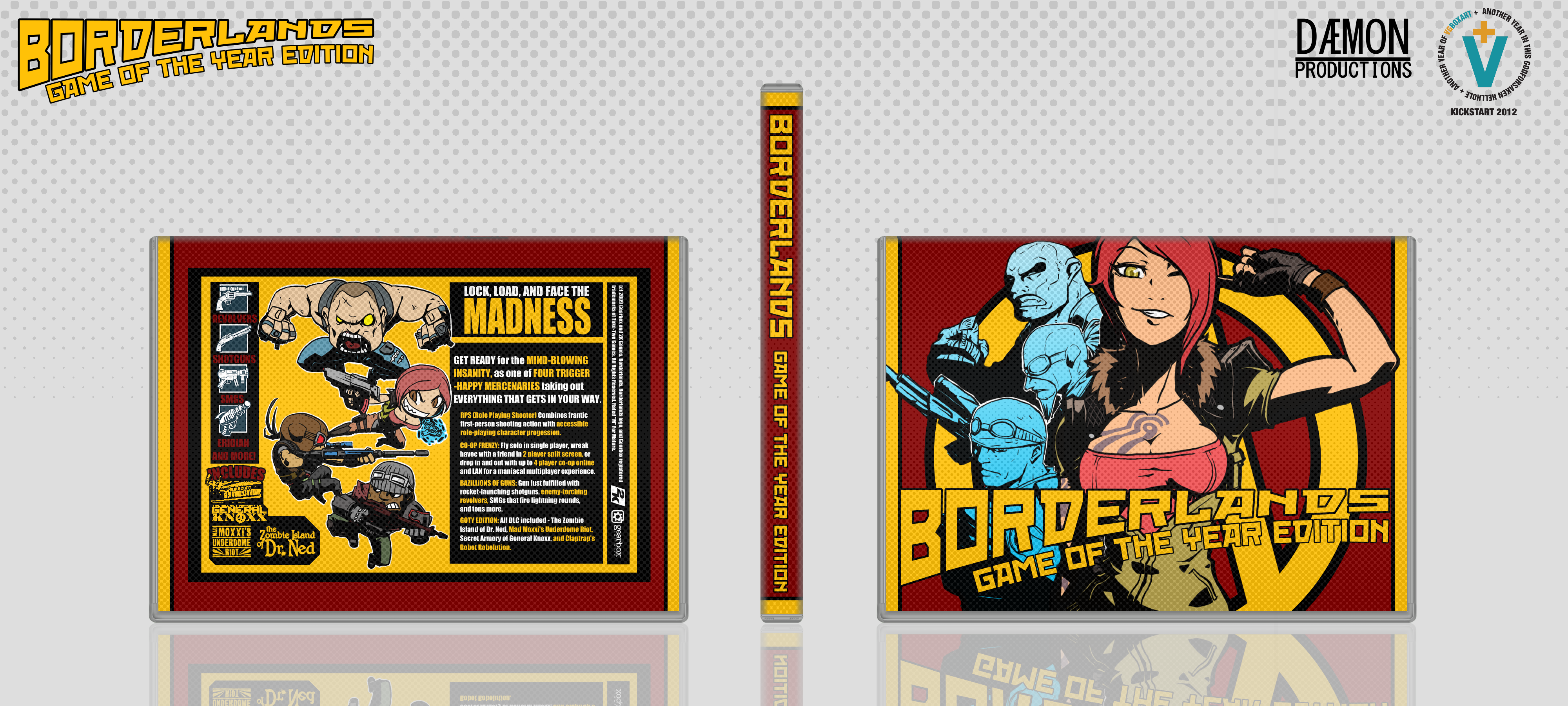 Borderlands: Game Of The Year Edition box cover