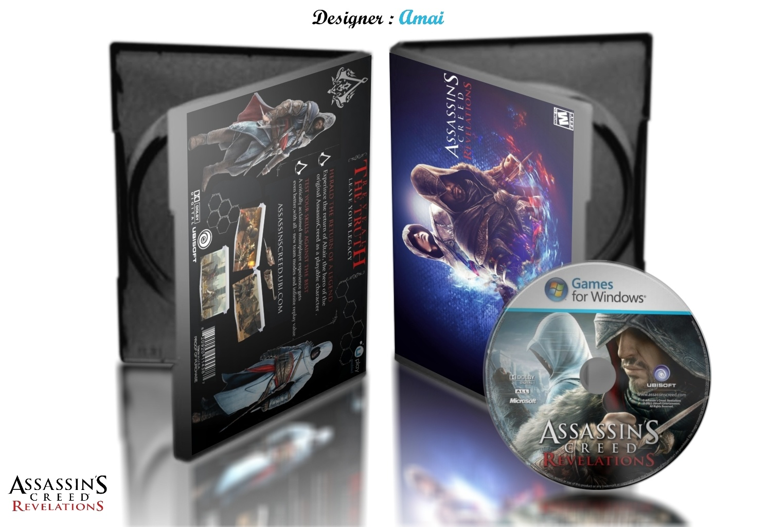 Assassin's Creed Revelations box cover