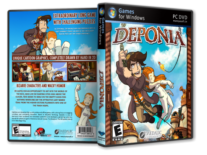 Deponia box art cover