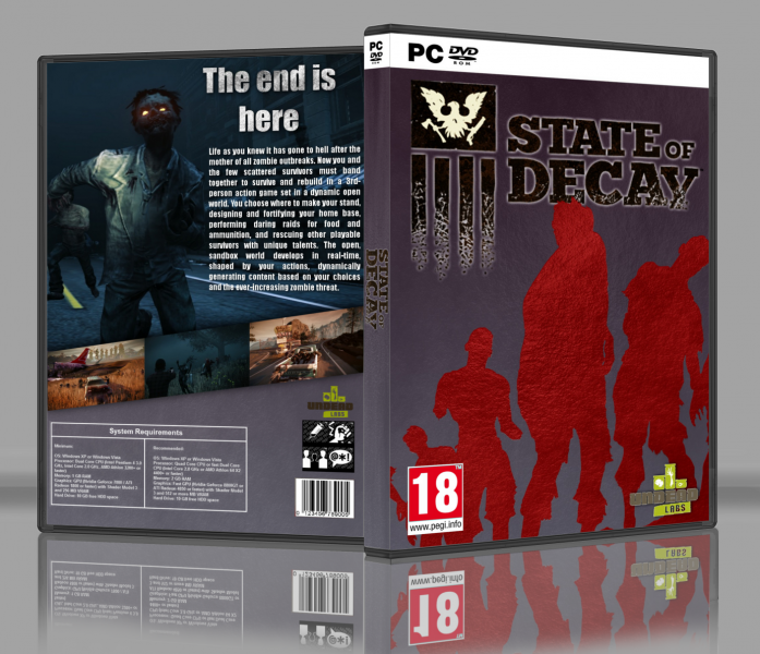 State of Decay box art cover