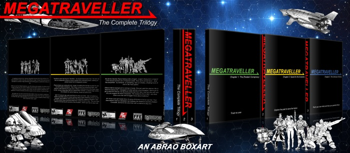 Megatraveller: The Complete Trilogy box art cover
