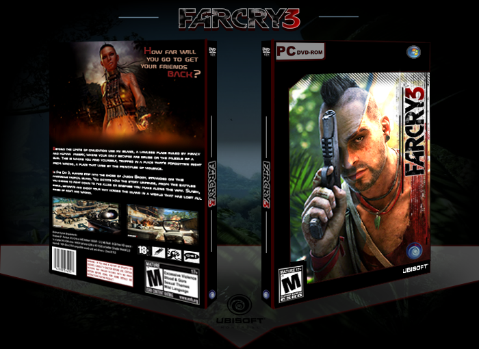 Far Cry 3 box cover