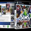 The Sims 3: University Life Box Art Cover