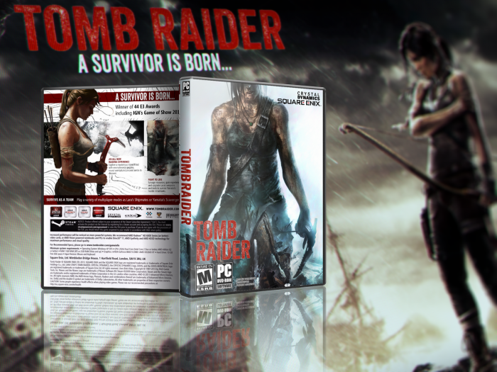 Tomb Raider box art cover