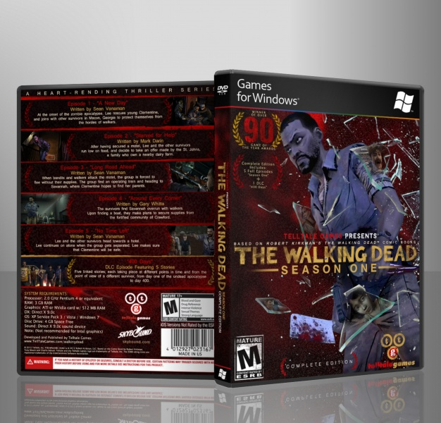 The Walking Dead: Season One: Complete Edition box art cover