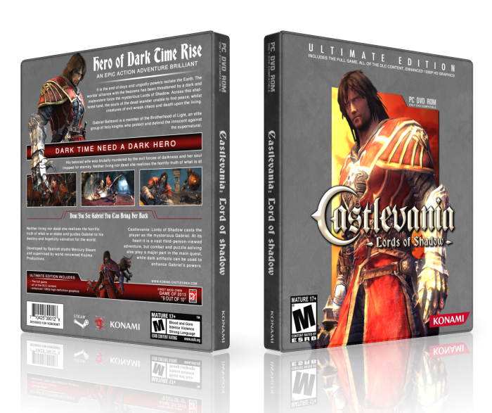 Castlevania: Lords of Shadow box art cover