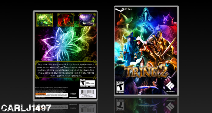 Trine 2 box art cover