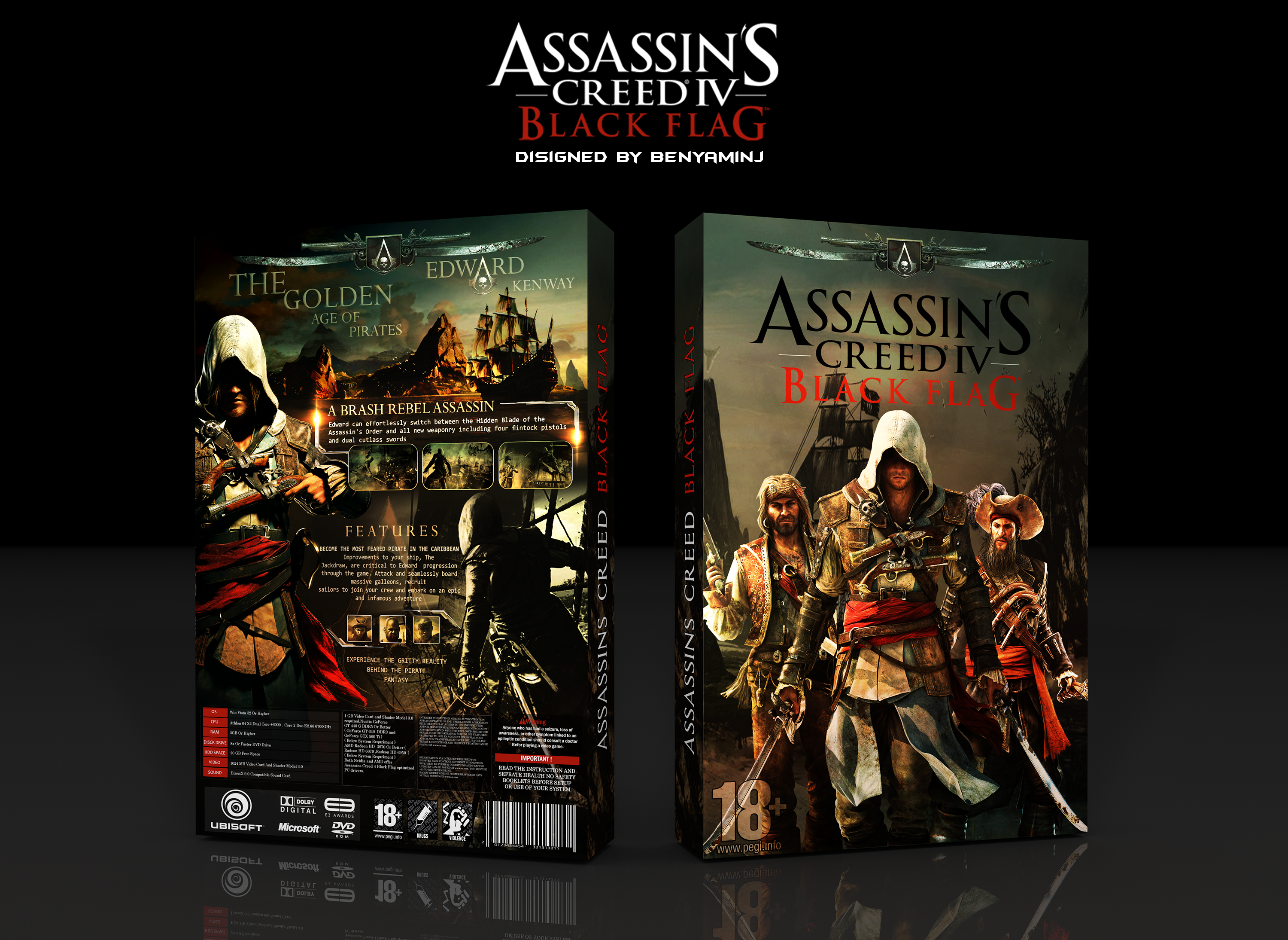 Assassin's Creed IV: Black Flag box cover