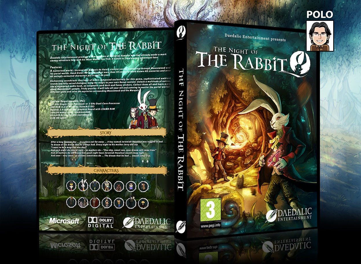 The Night Of The Rabbit box cover