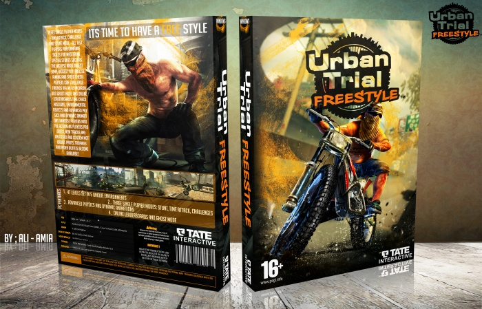 Urban Trial Freestyle box art cover