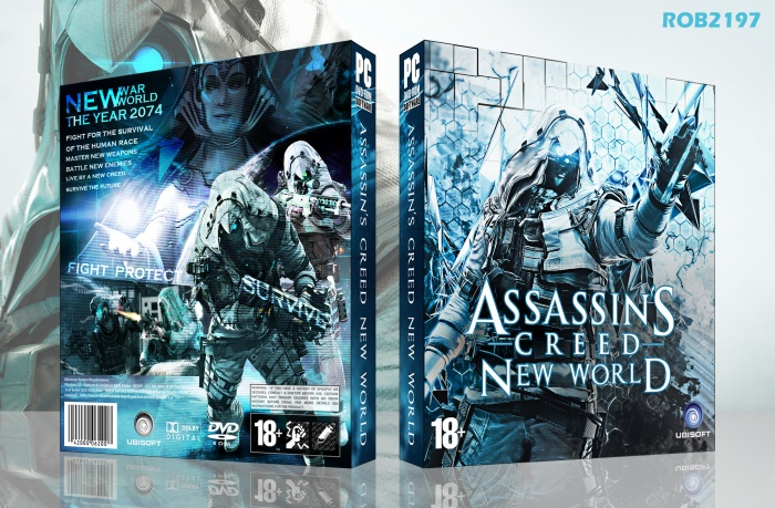 Assassin's Creed New World box art cover