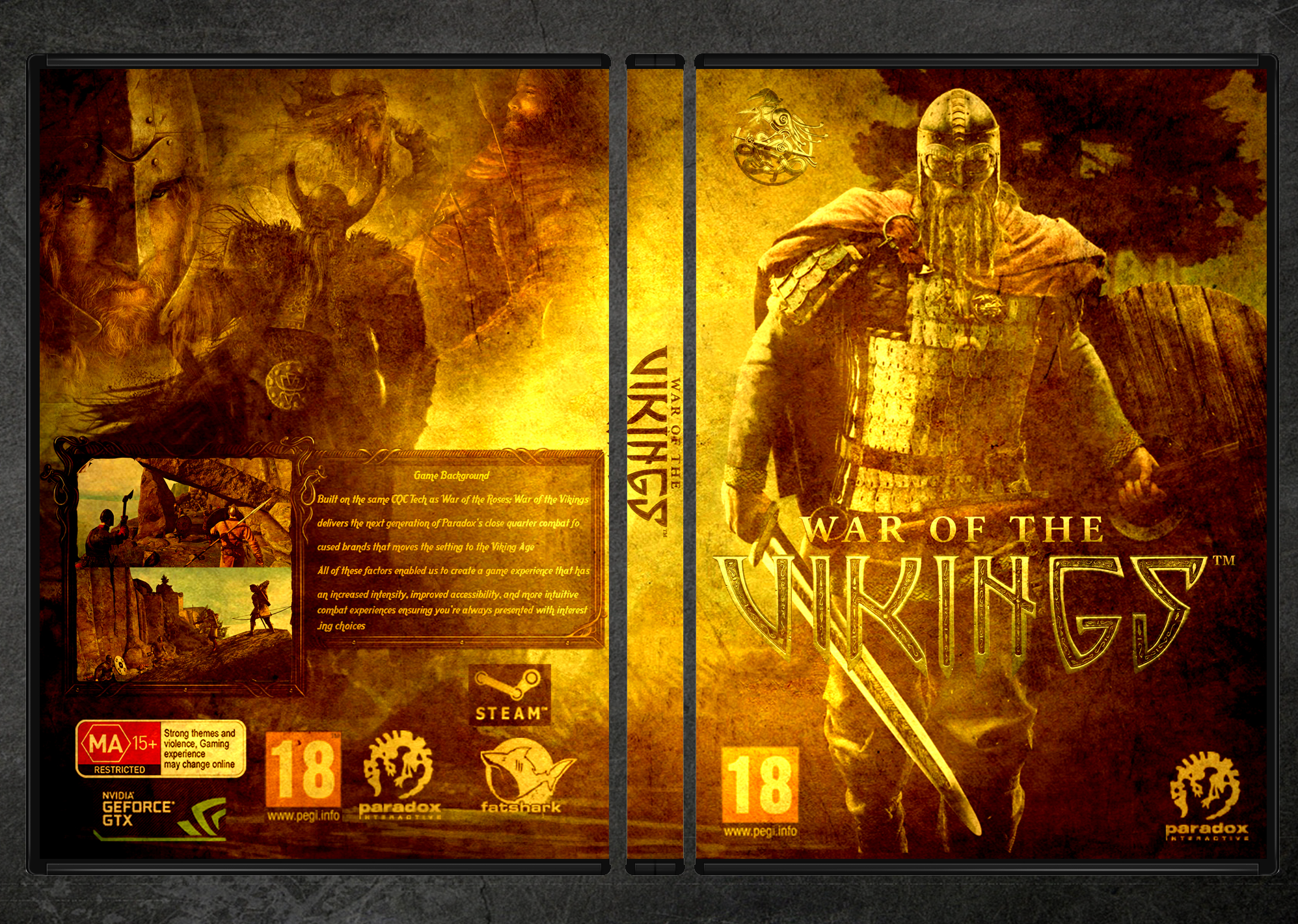 War of the Vikings box cover
